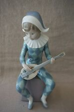 "Lladro Porcelain Figurine HARLEQUIN ""A"" #5075 - RETIRED"