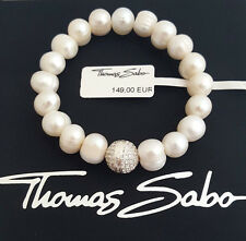 Thomas Sabo Perlenarmband UVP-149,00 € - A1081-167-14 Länge-15,5cm