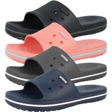 36-49 ★KULT★ Crocs Crocband Flip Black Zehentrenner Sandalen Badelatschen Gr