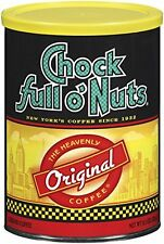 Chock Full O' Nuts Coffee, Regular, Amg, Can, 11.30-Ounce (Pack of 4), New, Free