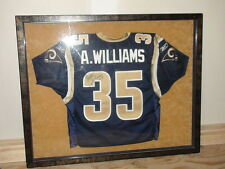 Aeneas Williams Autographed Framed Team Issued Jersey St. Louis Rams Football