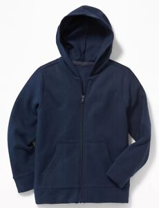 Old Navy Kids Navy Uniform Zip Hoodie ~ Boy Girl Zipper ~ Size M, L, or XL