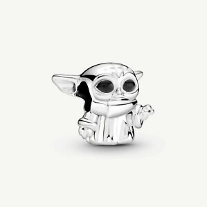 NEW Genuine S925 STERLING Silver Star Wars The Baby Yoda Charm Brand New