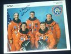 DISCOVERY STS-29 NASA VINTAGE Lithograph HAND SIGNED AUTOGRAPH LOA SHIPS FREE