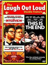 The Interview / This Is the End (DVD, 2015) - NEW!!