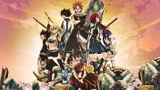 "115 FAIRY TAIL - Japanese Anime Manga Hiro Mashima 25""x14"" poster"