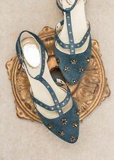 JOYFOLIE Galena in Poseidon Womens 8 Strapped and Studded $86 USA