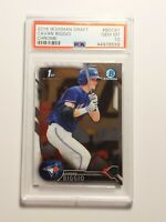 2016 Bowman Chrome Draft Cavan Biggio Official Rookie Card PSA 10 GEM MINT