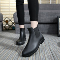 SAGUARO Unisex Winter Shoes Rain Boots Short Chelsea Boots Waterproof 4.5-10.5