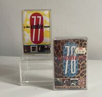 THE INDIE SCENE 1977 & 1978 CASSETTE TAPES Released 1991 Compilations X 2