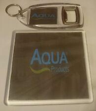 AQUA PRODUCTS CARP FISHING BIVVY  DRINKS COASTER & KEYRING