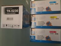 4 neue xl Toner für Kyocera ECOSYS TK5230 M5521cdn M5521 cdw P5021 cdn P5021cdw