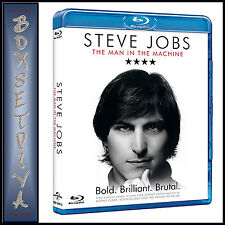 STEVE JOBS - THE MAN IN THE MACHINE  *BRAND NEW BLU-RAY**
