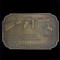 Colt Army 44 Cal says A GIFT BUFFOLO BILL Belt Buckle