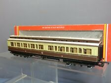 HORNBY RAILWAYS  MODEL No.R.435 GWR CLERESTORY  COACH VN MIB