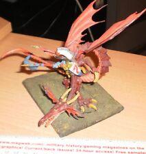 Warhammer Fantasy High Elf Lord on CONVERTED  Dragon  CUSTOM