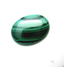 Edelsteine Cabouchon Malachit Scheibe oval grün Mineralien 30mm