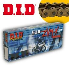 DID Drive Shaft Chain 530 ZVMX X-Ring 118 LINKS RIVET LINK GOLD 530zvmxggx118zb