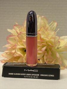 MAC Authentic Spoil Yourself Grand Illusion Glossy Liquid LipColor gloss NIB