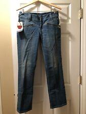 Levis Demi Curve Skinny Bootcut Blue Jeans W30 L32