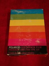 Vintage Polaroid ColorPack Film Polacolor Land Film Type 108 8 Prints Nos Sealed