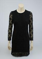 ISABEL MARANT x H&M Black Embroidered Lace Dress, SIZE US 10, EU 40, UK 12