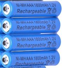 BT BT4500 BT6500 BT8500 4x 1.2V 1800 mAh AAA RECHARGEABLE BATTERIES BLUE