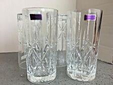 Waterford  Markham High Ball Glasses, Set of 4 Stunning!! **NEW**   B124