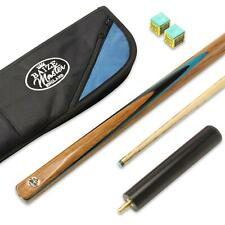 Baize Master CONQUEROR 2pc 58 Inch Snooker Cue and Luxury Soft Case 9.5mm Tip