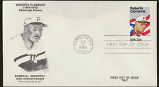 Roberto Clemente Pittsburgh Pirates #2097 Cachet First Day Cover Unadd (D1175)