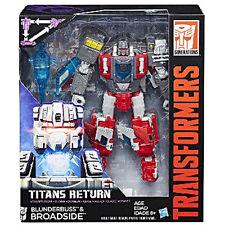 Transformers Generations Titans Return Wave 4 Voyager Blunderbuss & Broadside UK