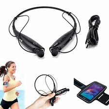 Wireless Bluetooth Sports Earphone+Armband Case For Samsung Galaxy Note 5 4 3 2