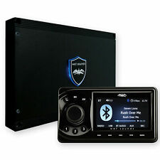 Wet Sounds WS-MC1 Marine Media System with Full-Color LCD BT 4 Zone Control
