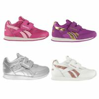 Reebok Classic Jogger RS Infant Girls Trainers Shoes Footwear
