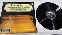 Joseph Haydn El Uhr + Die Überraschung LP Vinyl VG + Spanisch Ed Philips