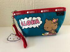 BRAND NEW! Lesportsac x Hello Kitty Sloan Aloha Medium Sloan Cosmetic Bag 45Th