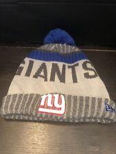 NY Giants New Era Skull Cap Beanie Lined