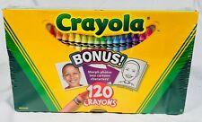 Nib 120 Crayola Crayons Sealed New in Box Child's Kids Crafts 2010