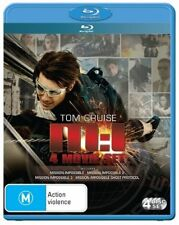 Mission Impossible - 4 Movie Set (Blu-ray, 4 Disc Set) 1, 2, 3 & 4 1-4