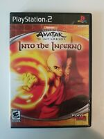 Avatar: The Last Airbender Into the Inferno Sony PlayStation 2/PS2 VG COMPLETE