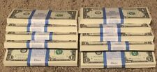 10 One Dollar Bills $1 US Money BEP Bundle 2017 Chicago New Notes Consecutive#'s
