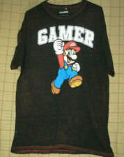 SUPER MARIO GAMER T SHIRT XL SEE DESCRIPTION