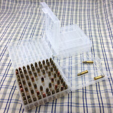 New Five 22Lr .25 Acp Ammo Boxes 100 Round of storage -5 Pcs