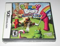 Gummy Bears Minigolf for Nintendo DS Brand New! Fast Shipping!