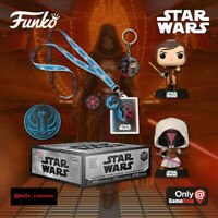 FUNKO BOX: STAR WARS GAMING GREATS JEDI REVAN & BASTILA SHAN CONFIRMED PREORDER