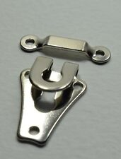 Set 24 Pcs Hook and Bar Catch. Silver For Repair , DIY , Size 20 mm.