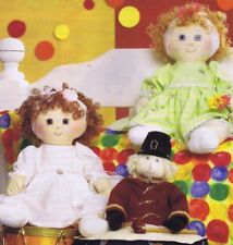 Baby Doll & Clothes Sewing Patterns, Patchwork Magazine Vol 7/10 10 inch doll