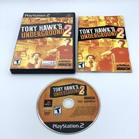 Tony Hawk's Underground 2 (Sony PlayStation 2, 2004) Black Label Complete CIB