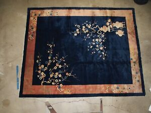 art deco chinese rug 8x10