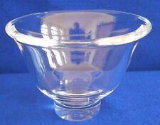 Steuben Glass Pedestal Bowl, # 8284